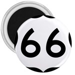 U.S. Route 66 3  Magnets Front