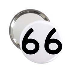 U S  Route 66 2 25  Handbag Mirrors
