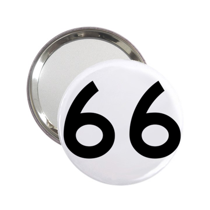 U.S. Route 66 2.25  Handbag Mirrors