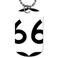 U S  Route 66 Dog Tag (two Sides) by abbeyz71