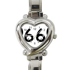 U S  Route 66 Heart Italian Charm Watch