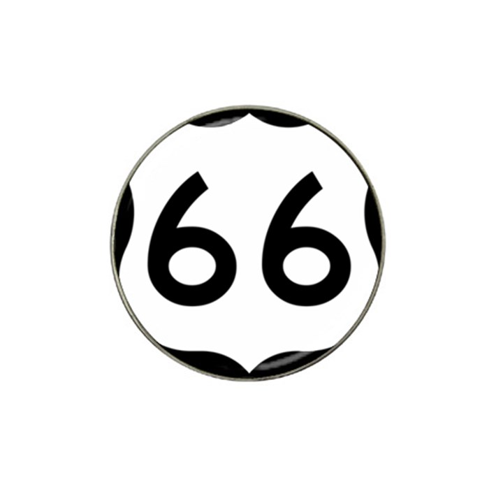 U.S. Route 66 Hat Clip Ball Marker (4 pack)