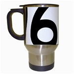 U.S. Route 66 Travel Mugs (White) Left