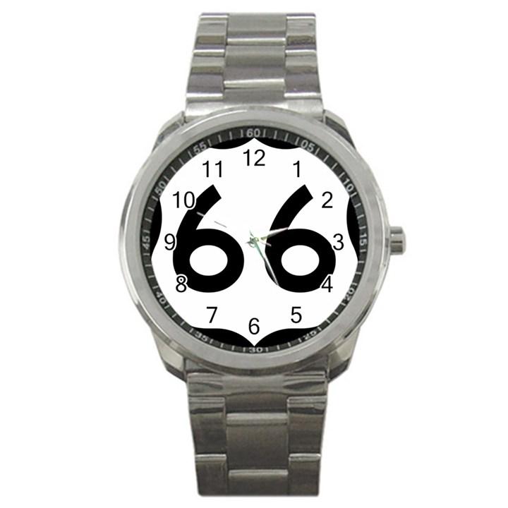 U.S. Route 66 Sport Metal Watch