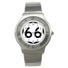 U S  Route 66 Stainless Steel Watch by abbeyz71