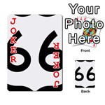 U.S. Route 66 Playing Cards 54 Designs  Front - Joker2