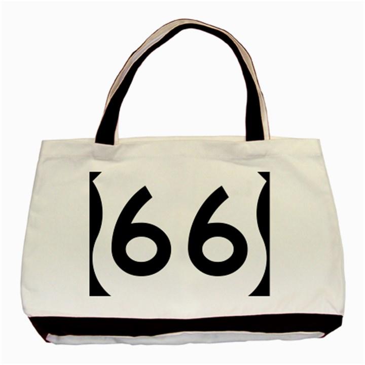 U.S. Route 66 Basic Tote Bag