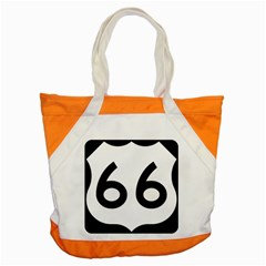 U S  Route 66 Accent Tote Bag by abbeyz71