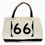 U.S. Route 66 Basic Tote Bag (Two Sides) Back
