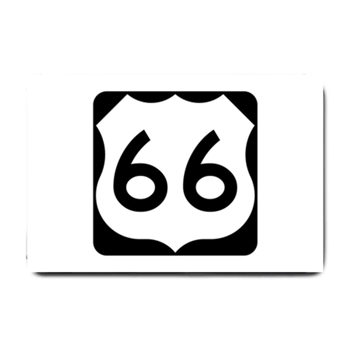 U.S. Route 66 Small Doormat