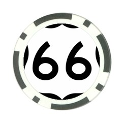 U S  Route 66 Poker Chip Card Guards