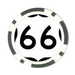 U.S. Route 66 Poker Chip Card Guards