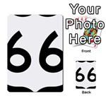 U.S. Route 66 Multi-purpose Cards (Rectangle)  Back 12