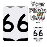 U.S. Route 66 Multi-purpose Cards (Rectangle)  Front 27