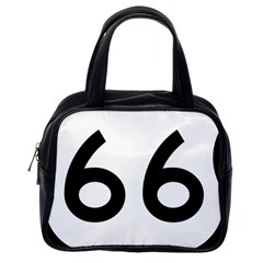 U S  Route 66 Classic Handbags (one Side) by abbeyz71