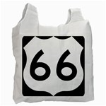 U.S. Route 66 Recycle Bag (Two Side)  Front