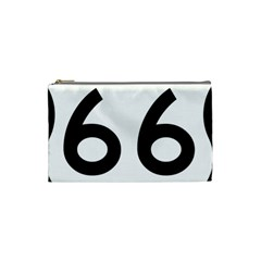U S  Route 66 Cosmetic Bag (small)