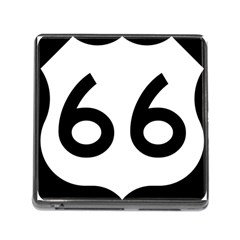 U S  Route 66 Memory Card Reader (square) by abbeyz71