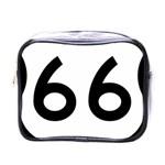 U.S. Route 66 Mini Toiletries Bags