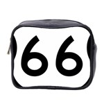 U.S. Route 66 Mini Toiletries Bag 2-Side Front