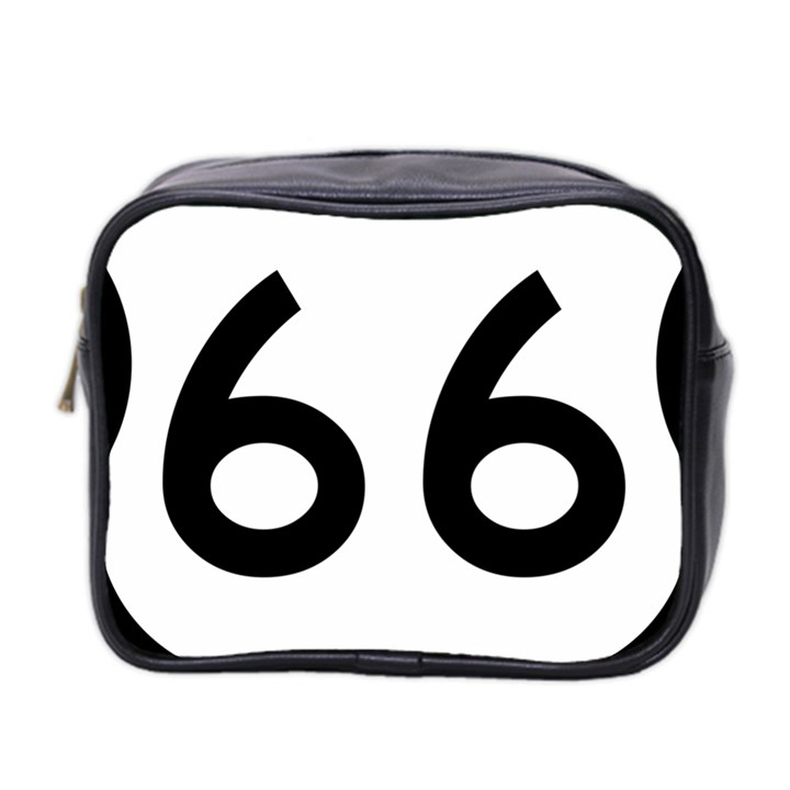 U.S. Route 66 Mini Toiletries Bag 2-Side