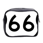 U.S. Route 66 Mini Toiletries Bag 2-Side Back