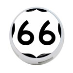 U.S. Route 66 4-Port USB Hub (One Side) Front