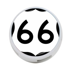 U S  Route 66 4 Port Usb Hub (two Sides)  by abbeyz71