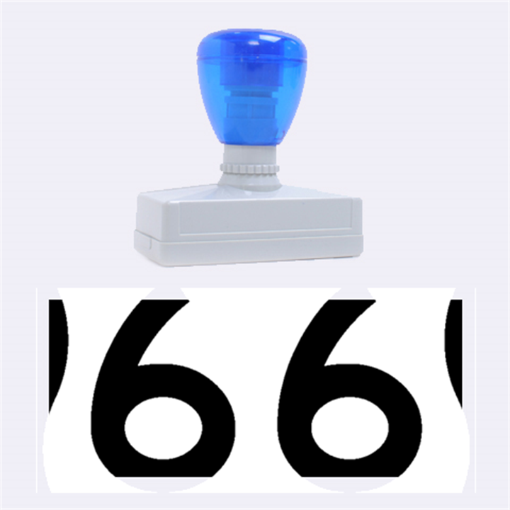 U.S. Route 66 Rubber Stamps (Large)