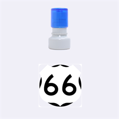 U S  Route 66 Rubber Round Stamps (small) by abbeyz71