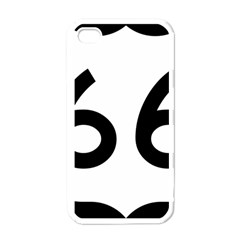 U S  Route 66 Apple Iphone 4 Case (white) by abbeyz71