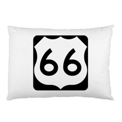 U S  Route 66 Pillow Case (two Sides) by abbeyz71