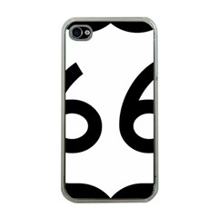 U S  Route 66 Apple Iphone 4 Case (clear) by abbeyz71