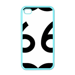 U S  Route 66 Apple Iphone 4 Case (color) by abbeyz71