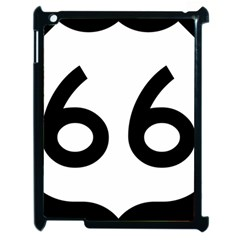 U S  Route 66 Apple Ipad 2 Case (black) by abbeyz71
