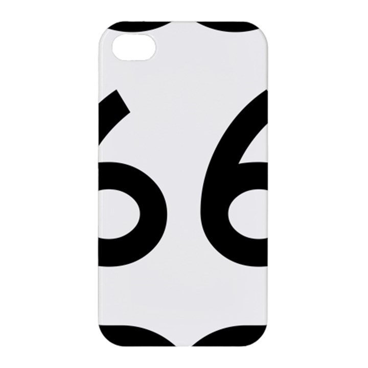 U.S. Route 66 Apple iPhone 4/4S Hardshell Case