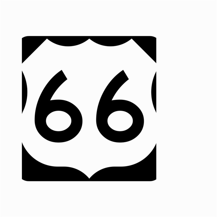 U.S. Route 66 Small Garden Flag (Two Sides)