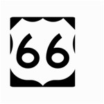 U.S. Route 66 Small Garden Flag (Two Sides) Back