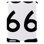 U.S. Route 66 Apple iPad 3/4 Hardshell Case (Compatible with Smart Cover)