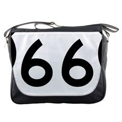 U S  Route 66 Messenger Bags