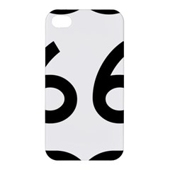 U S  Route 66 Apple Iphone 4/4s Premium Hardshell Case by abbeyz71