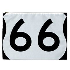 U S  Route 66 Cosmetic Bag (xxl)  by abbeyz71