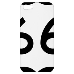 U S  Route 66 Apple Iphone 5 Hardshell Case by abbeyz71