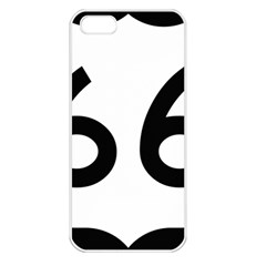 U S  Route 66 Apple Iphone 5 Seamless Case (white)