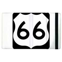 U S  Route 66 Apple Ipad 2 Flip Case by abbeyz71