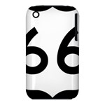 U.S. Route 66 Apple iPhone 3G/3GS Hardshell Case (PC+Silicone)