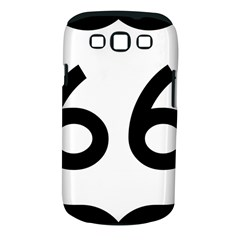 U S  Route 66 Samsung Galaxy S Iii Classic Hardshell Case (pc+silicone) by abbeyz71