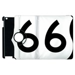 U.S. Route 66 Apple iPad 2 Flip 360 Case Front