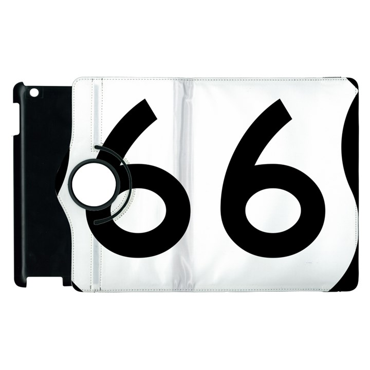 U.S. Route 66 Apple iPad 2 Flip 360 Case