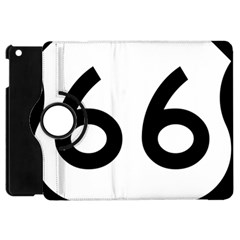 U S  Route 66 Apple Ipad Mini Flip 360 Case by abbeyz71